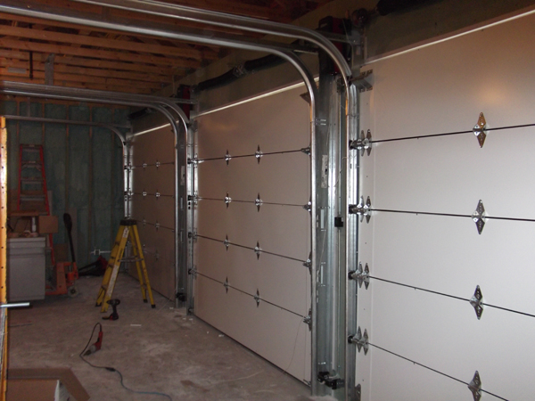 Interior View Of Bullet Resistant Garage Doors